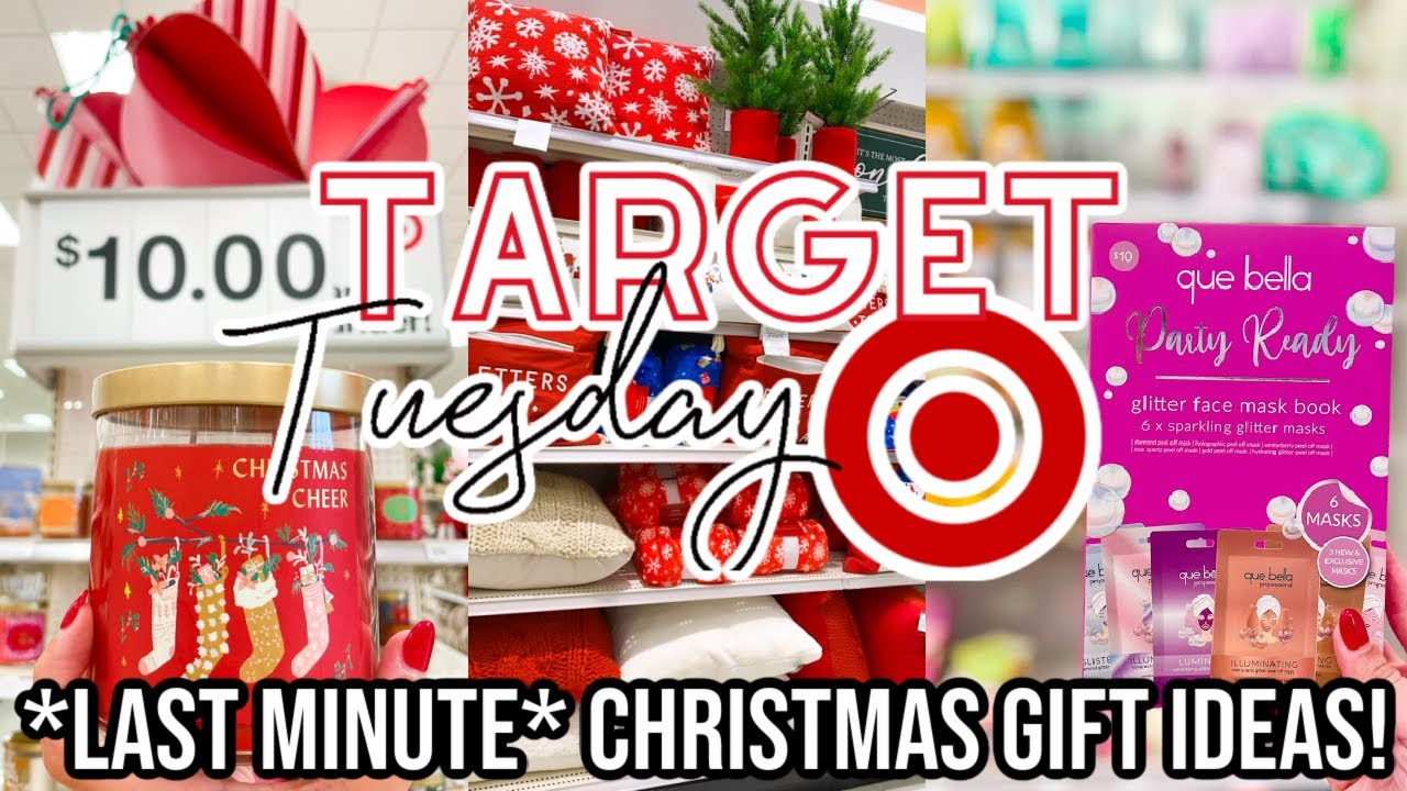 Target Christmas Shop With Me Last Minute Gift Ideas For The Whole Family 2020 Target Tuesday Youtube