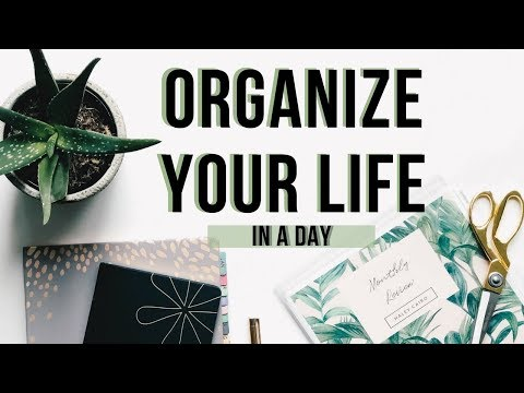 How I Plan and Organize My Life to Achieve Goals + Get Things Done