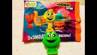 Фигурки ева эмоджи от магазина Eva