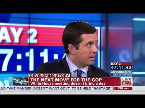 CNN Government Shutdown Special - Congressman Devin Nunes