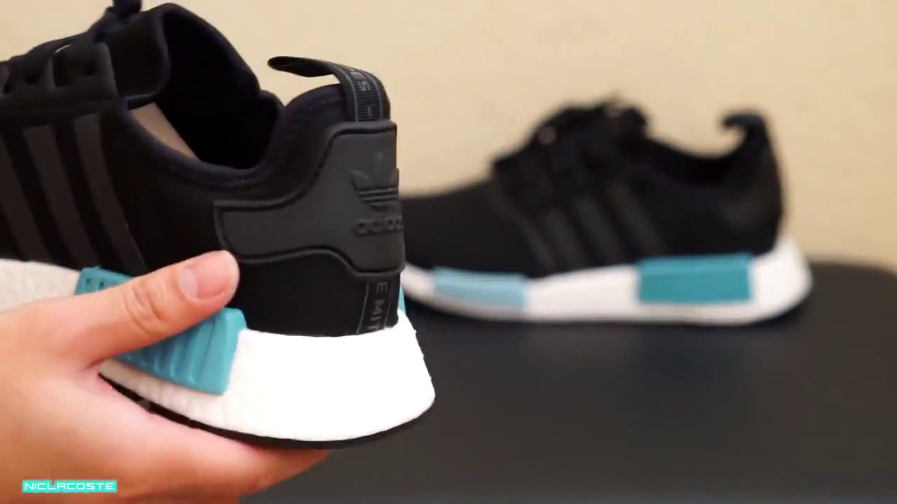 421098c3e Review Adidas NMD R1 Icey Blue BY9951 - YouTube