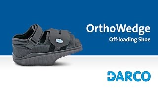OrthoWedge Forefoot Off-loading Shoe - How to walk properly in a forefoot off-loading shoe