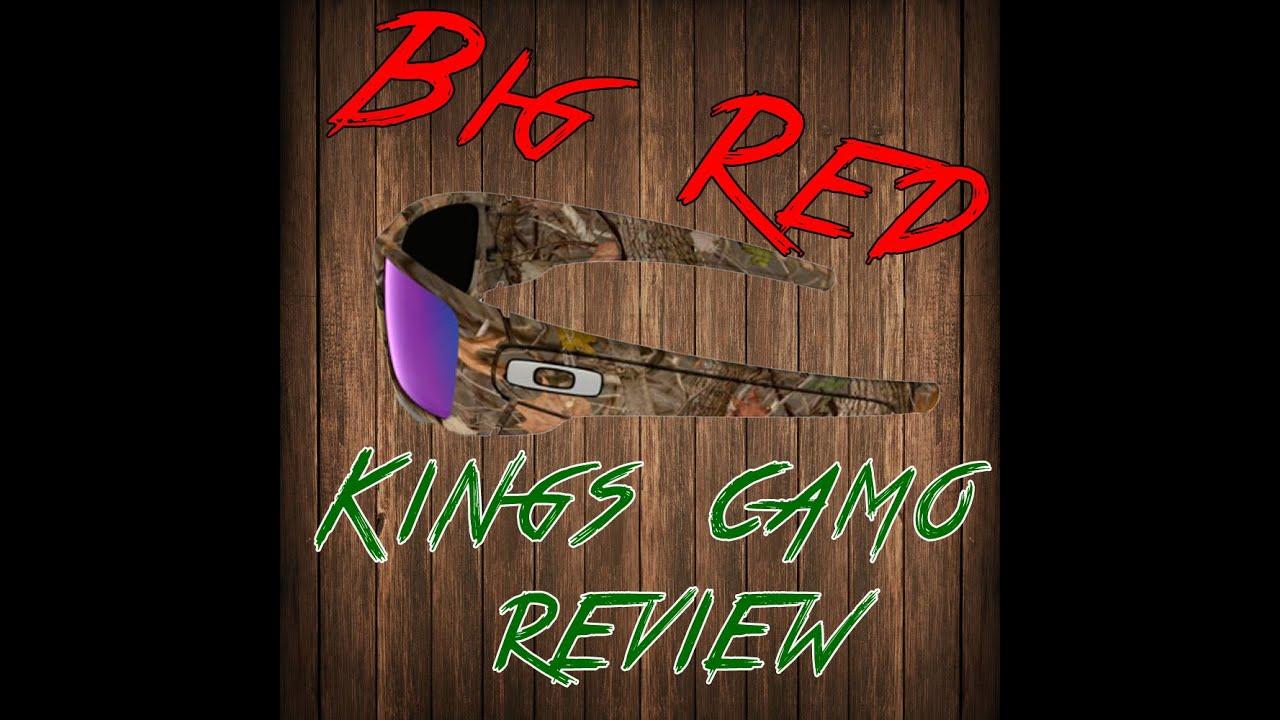 73c211b75cb Oakley Kings camo - YouTube