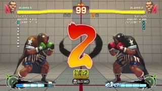Super Street Fighter 4 AE: 2012 Ranked Matches - OSV305 (Ba) vs PR Balrog (Ba)