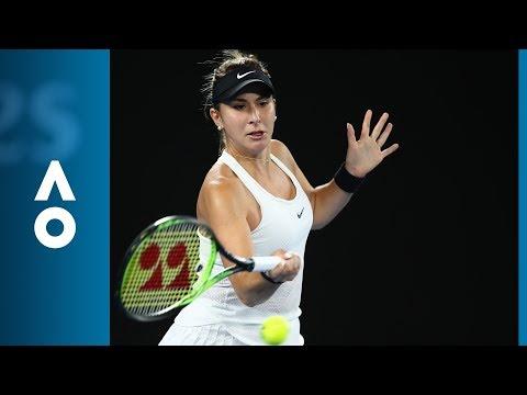Venus Williams v Belinda Bencic match highlights (1R) | Australian Open 2018