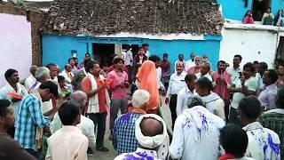 फाग गायन ।।  कोमेडियन नृत्य  ।। अर्जुन के रथ पे बैठे कन्हैया ---