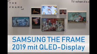 SAMSUNG THE FRAME 2019 Lifestyle-TV mit QLED-Display
