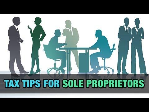 Tax Tips for Sole Proprietors