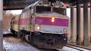 Boston MBTA Commuter Trains