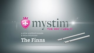 Mystim - The Finns e-stim urethral sounds