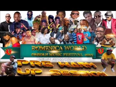 Dominica World Creole Music Festival  Session mix by djeasy