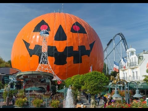 Europa Park Halloween 2015 Vlog Part 1 Of 2