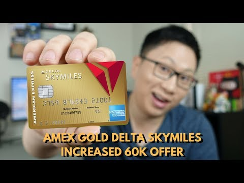 Increased Amex Delta Gold Offer (60k Points = $720)