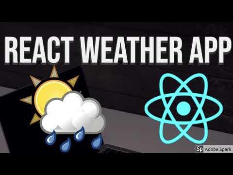React Weather App Demo #37