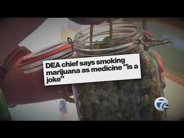 """Ask Dr. Nandi: DEA chief calls medical marijuana """"a joke"""""""