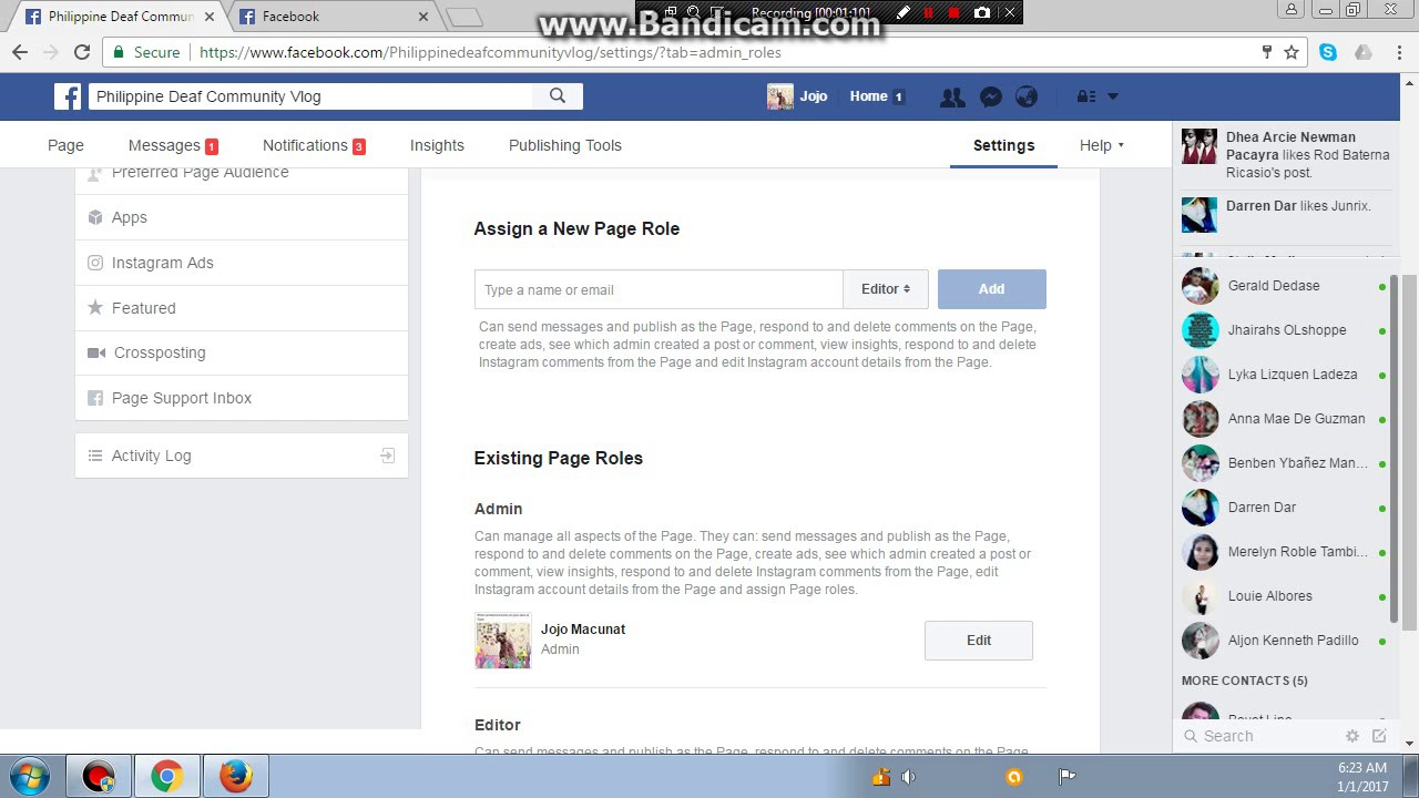 Page Role On Facebook How To Make A Page Role