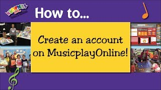 How to Create a MusicplayOnline Account
