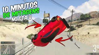 10 MINUTOS DE CAGADAS E MITAGEM NO GTA V #4