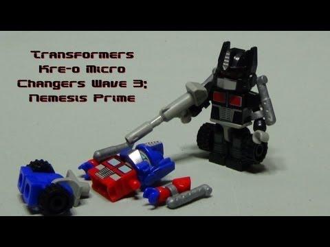 Transformers Kre-o Micro Changers Wave 3: Nemesis Prime