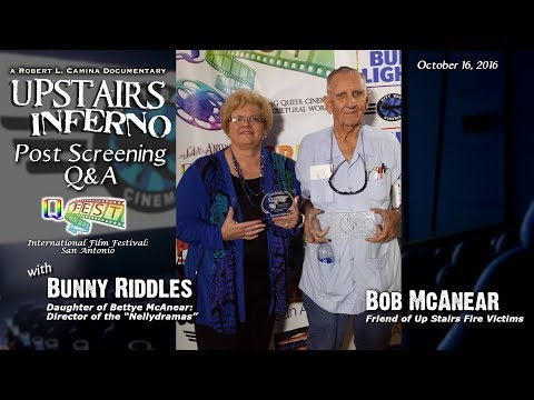 UPSTAIRS INFERNO Q&A with Bunny Riddles and Bob McAnear at QFest San Antonio