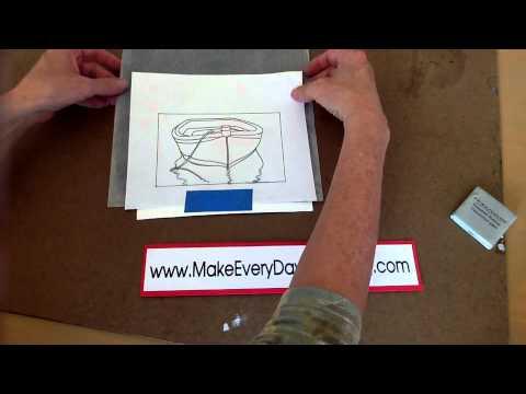 Using Graphite Transfer Paper