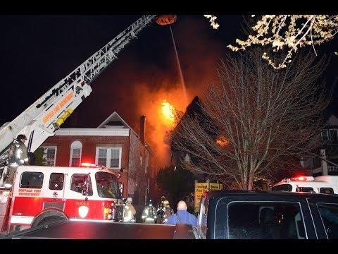 Buffalo FD 3rd Alarm Fatal W/ Relief - 1074 Elmwood Ave