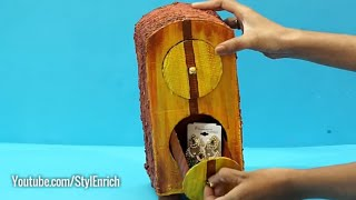 OMG! This is not WOOD ! Plastic Bottle Craft Ideas for DIY Organizer   Easy Best out of waste