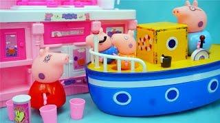 粉红猪小妹 厨房过家家 迪士尼 玩具 小猪佩奇