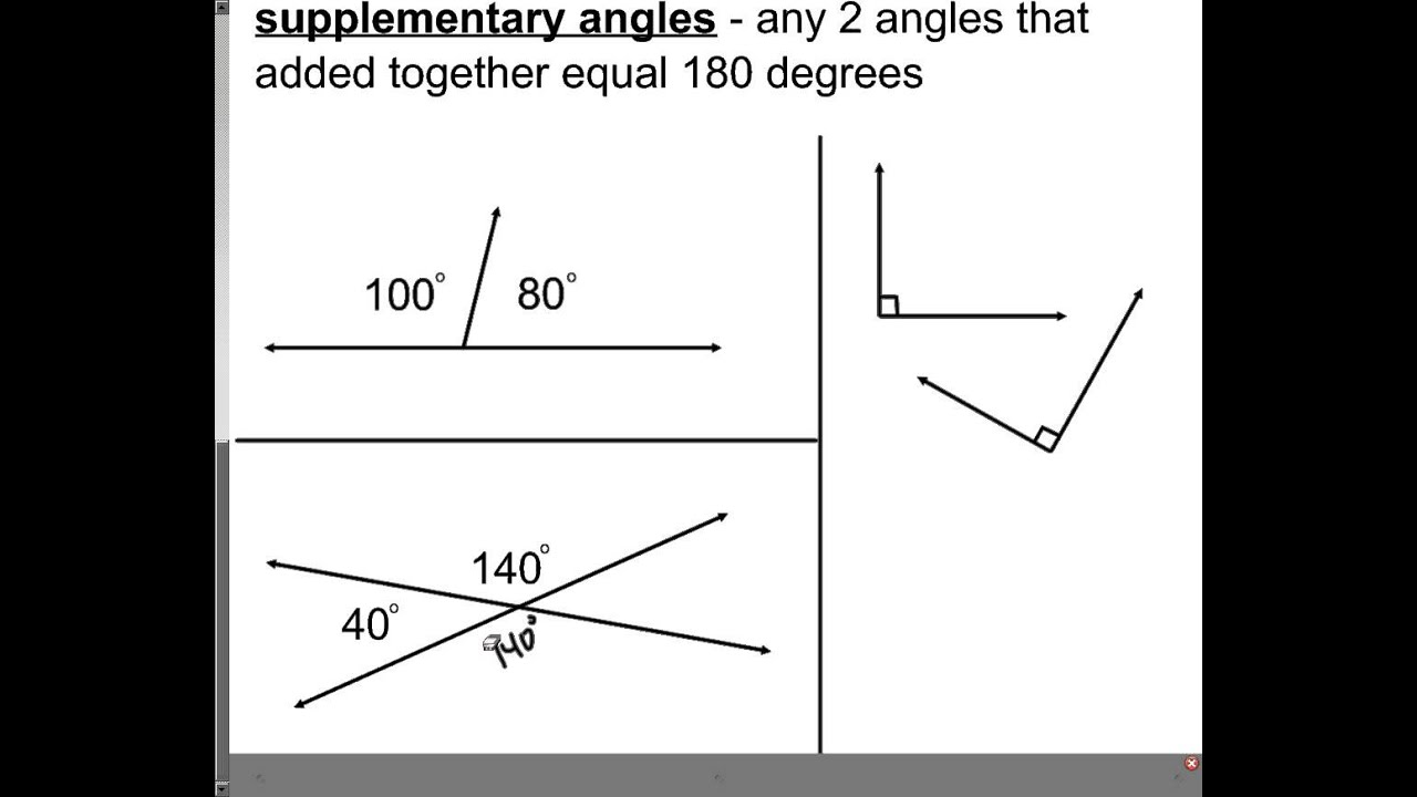 Worksheet Complementary And Supplementary Angles Worksheets Grass Fedjp Worksheet Study Site