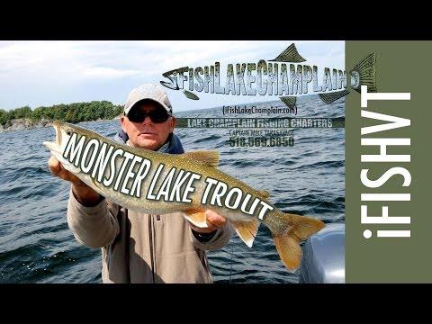 Lake Champlain Fishing Charters | Fishing For Lake Trout