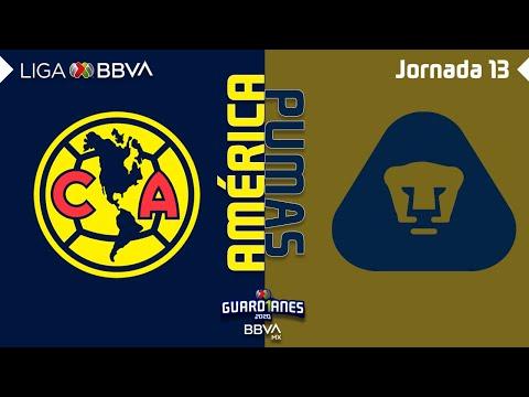 Club America U.N.A.M. Pumas Goals And Highlights