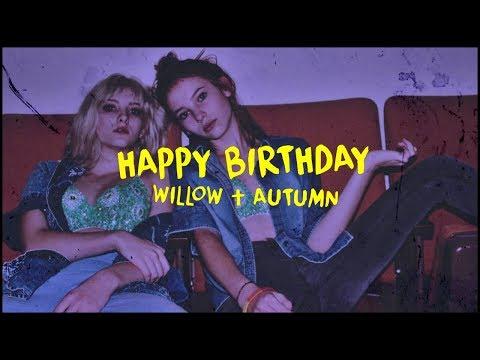 Happy 17th Birthday, Willow & Autumn Shields!