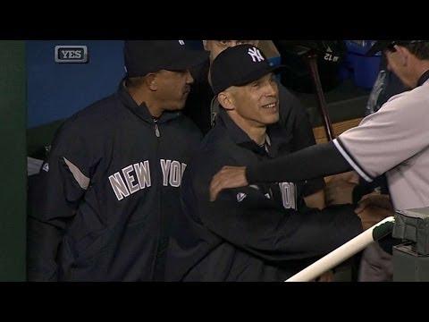 NYY@KC: Girardi notches 500th win as Yankees