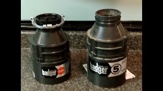 Replacing Old InSinkErator Badger 5 with new InSinkErator Badger 500