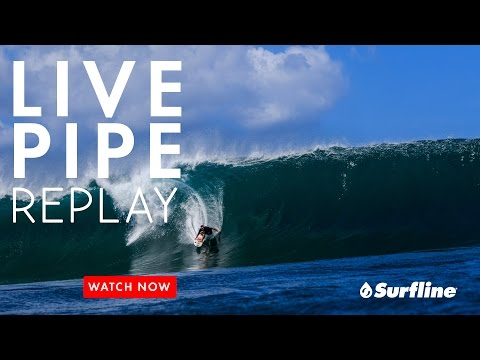 Pipeline, Hawaii March 26th, 2017 | Unedited Raw Footage from Surfline's Live Session at Pipeline
