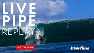 Pipeline, Hawaii March 26th, 2017   Unedited Raw Footage from Surfline