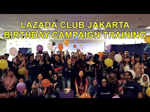 LAZADA CLUB JAKARTA - KESERUAN TRAINING BIRTHDAY CAMPAIGN ULTAH LAZADA KE-7 Mp3