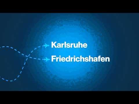 InterSky Kino-Werbung: Strecken Ab Hamburg / Hamruhe Bis Hamrichshafen