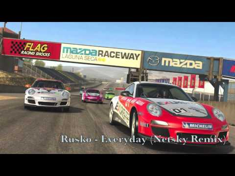 Real Racing 3  Soundtrack Rusko  EverydayNetsky Remix