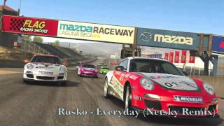 Real Racing 3 Video Soundtrack [Rusko - Everyday(Netsky Remix)]