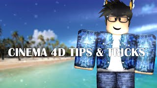 CINEMA 4D TIPS AND TRICKS! ROBLOX RENDERING