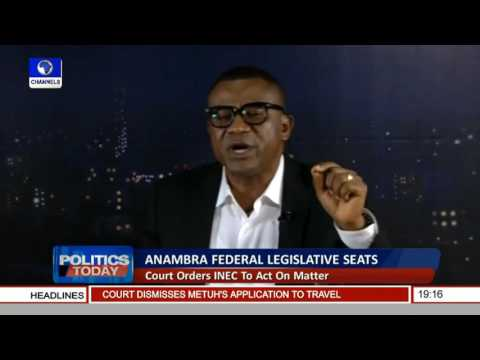 Politics Today: Discussing PDP Anambra Federal Legislative Seats Tussle Pt 2