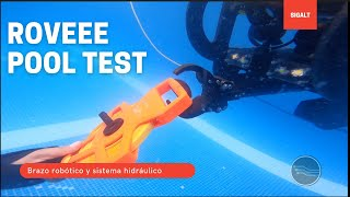 Roveee Roboteknik Pool Test