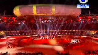 AR Rahman performance - CWG 2010 Opening Ceremony