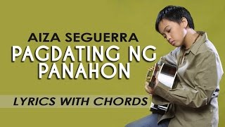 Aiza Seguerra - Pagdating ng Panahon Signature Hitsong  [Lyric Video with Chords]