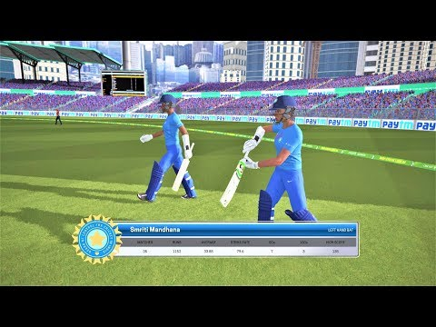 India Women Vs. England Women 1st ODI 2019,Live Cricket Score & Commentary, Ashes Cricket Gameplay