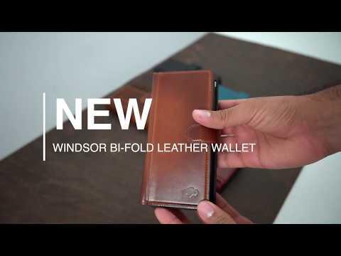 Burkley Case Windsor Bi-Fold Leather Wallet Case For Samsung Galaxy NOTE 10+ PLUS