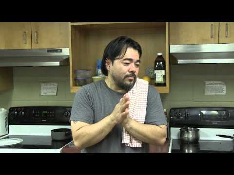 Arab cooking with Chef Katsuya Fukushima
