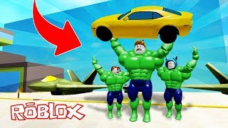 WE TRANSFORM IN HULK!! SUPERHEROES AVENGERS ROBLOX 💙💚💛 BE BE BE BE BE BE BE BE BE BE BE A MILO VITA AND ADRI 😍 AMIWITOS