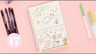 Video Easy Bullet Journal Doodles | Plan With Me download MP3, 3GP, MP4, WEBM, AVI, FLV Juli 2018